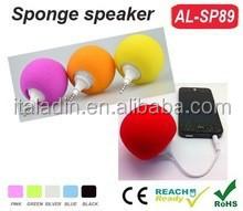 2015 High quality ball shape mini speaker phone gadget