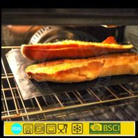 Non-stick silicone baking mat bbq grill mesh sheet set