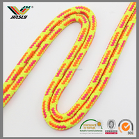 wholesale custom stripe anti-silp woven nylon round elastic cord
