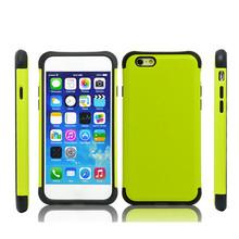 2015 hot sell mobile bulk hybrid mobile phone case for iphone 6