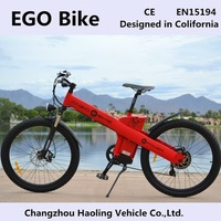 Sports style 28' motorized motor electric bike with high speed