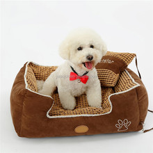 Hot selling plush bed for small dog