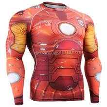 high quality 2015 long sleeve compression shirt, sport running compression clothing