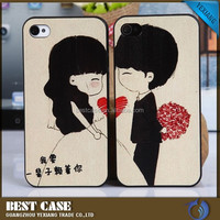 Wedding gift cell phone case for iphone6, phone case for lovers couple