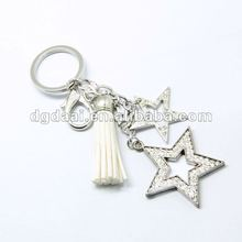 2012 hot sale blank metal keychains