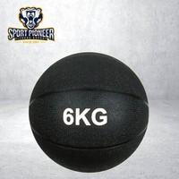 6KG Black Rubber Slam ball