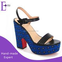 woman wedge sandals 2015 new model ladies high heel platform sandals shoes