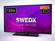 """40"""" Super Slim Full HD 120Hz LED LCD TV"""