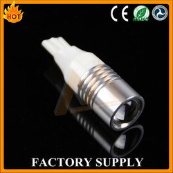 high power super bright led car turn light 10-30v led car t20 with projector lens