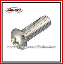M3 / a2 70 stainless steel / DIN 7380 / allen key button head cap screw / hex bolt importer