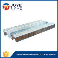China manufacture different size wooden staples for air gun