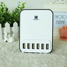 Hot sale portable 6 ports USB Charger with 40W(5V/8A) from Trulyway