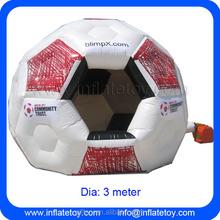 Futebol inflável tenda evento tenda de futebol bolha inflável tenda para venda