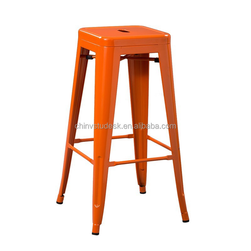 Colorful Bar Stool Antique Colorful Metal Dining Bar Stool