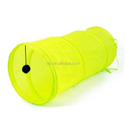 Pet tunnel,long pet tent can drill with noise dog tunnel