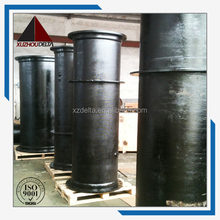 bituminous ductile iron Double flanged with puddle Pipe
