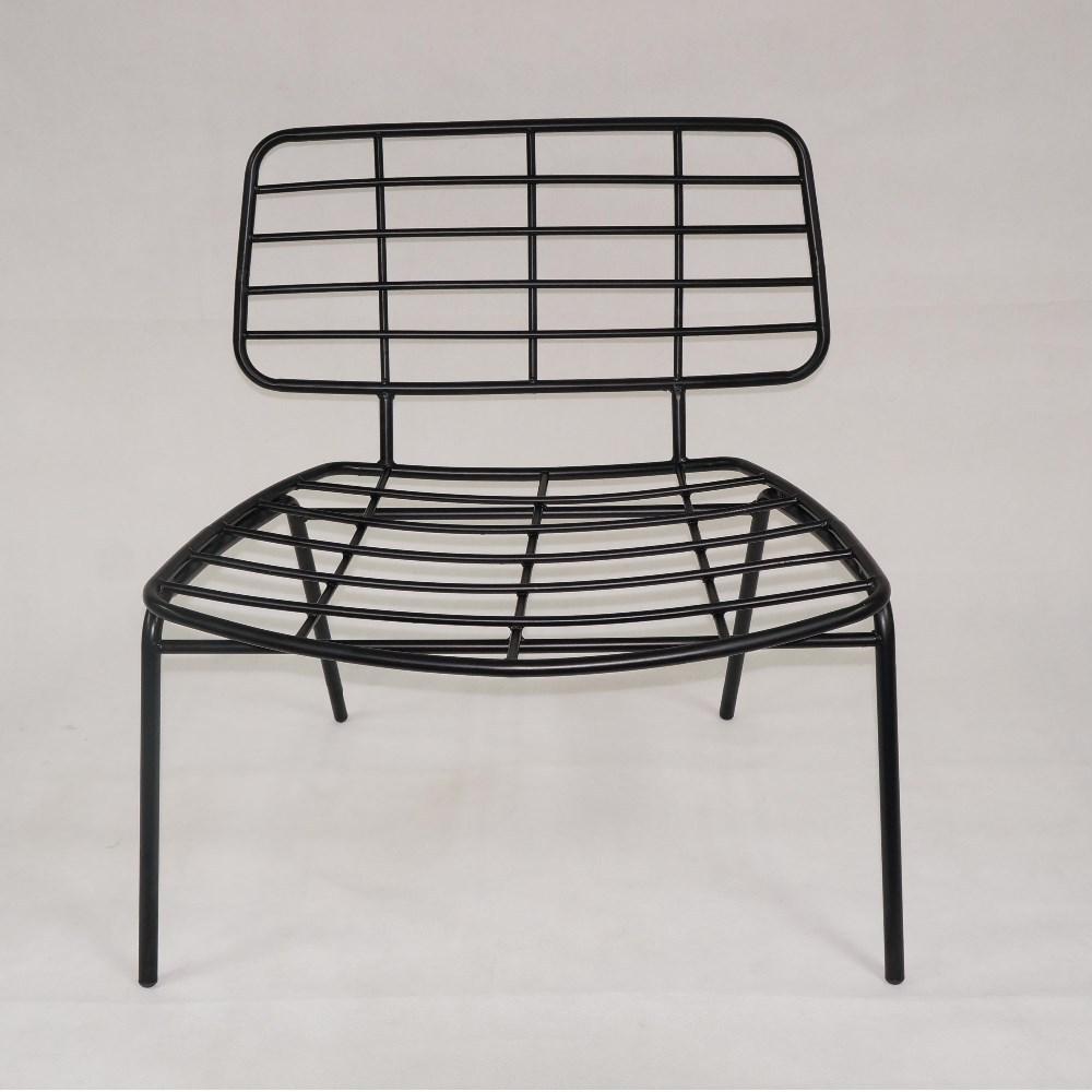 Netlike Tubular Metal Leisure Chair Outdoor Chair Garden