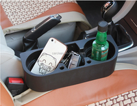 Valet Plastic Car seat Organizer for Car Seat cup Holder