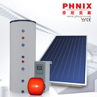 Effective technology hot keymark approved flat solar air collector