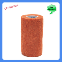 15cmx4.5m Patterned Cotton Printing Veterinary Cohesive Bandage