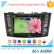 touch screen car dvd player for SUZUKI SWIFT 2012 with gps/mp3/audio navigation system