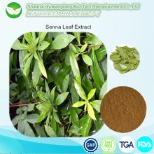 Chinese Herbs Extract Senna Leaf extract,CALCIUM SENNOSIDES 20%, 40%, 60%