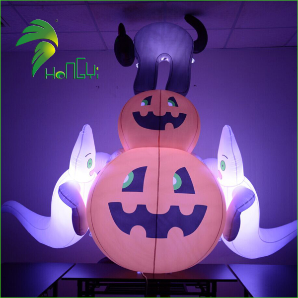 pumpkin with ghost (1)
