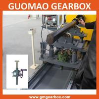 Manual or electric worm gear 4x4 screw jack