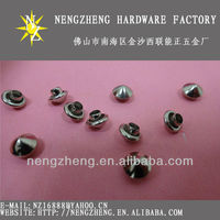 iron cone rivets studs metal fittings for leather bags