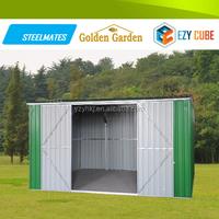 Garden new design 2015 best selling steel folding house