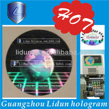 Newly design hologram sticker label