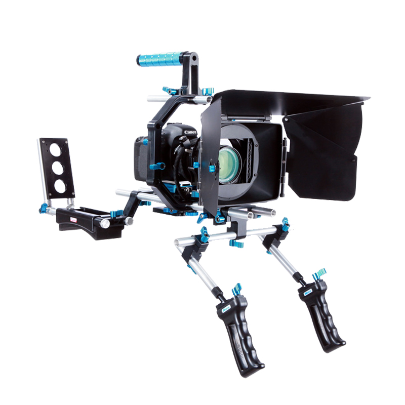 Film Tiro Attrezzature Partita Perfetta Fotocamera DSLR Rig per le riprese video