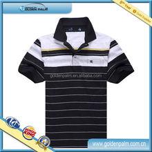 mens polo shirts manufacturer leisure polo t shirts fashion men's striped polo shirts