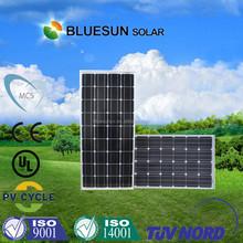 High efficiency 140w solar panel monocrystalline solar panel
