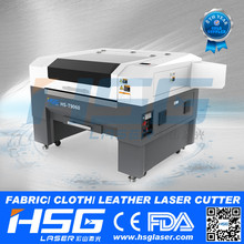 China Supplier HSG 60watt Laser engrver/cutter for fabric and leather HS-T9060