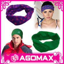 Custom Sports Game seamless headwear neck tube fishing Bandana