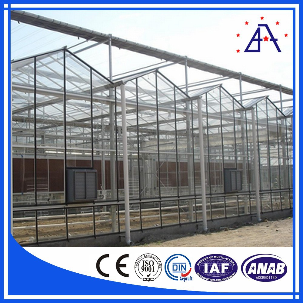 Top Sales Aluminum Extrusion Greenhouse Roofing Material