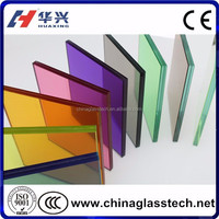 CE/CCC/ISO9001 cut to size Tempered laminated glass railing for deck