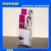 POP acrylic leaflet display stand