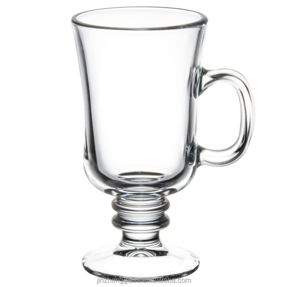 verre irlandais verre de caf tasse irish caf effacer verre tasses lunettes de caf irlandais. Black Bedroom Furniture Sets. Home Design Ideas