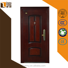 2015 New arrival right/left inside/outside fire rated door,promotional double steel fire rated door