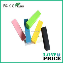 2015 Alibaba china supplier available to promotion and gifts perfume power bank 2600mah multi-colors for choose