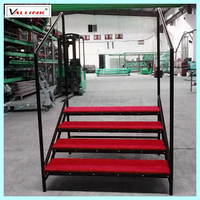 warehouse metal trailer steps