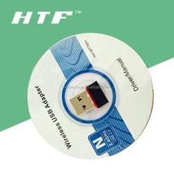 mini design Nano 2 in 1 Mini 150Mbps USB WiFi Wireless N LAN Network Adapter 802.11