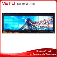 "42"" 46"" 47"" 55"" 60"" high transparency led display china music video wall rental led video wall"