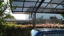 Solid Glass Canopy Swing XH304 Material