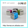 Td-v26 tarjeta TF altavoces de audio, altavoz fm, 2015 altavoces
