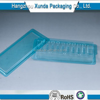 Small plastic clear containers with lids for medication