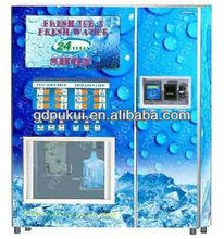 Fresh Ice & Pure Water Vending Machine/ Combo Vending Dispenser/ Ice and Water Vendor with Smard Card and Coin acceptor