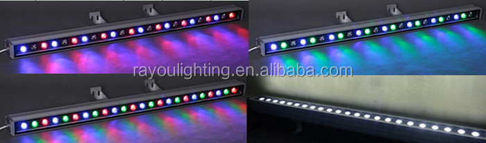 led wall washer lighting effect 1